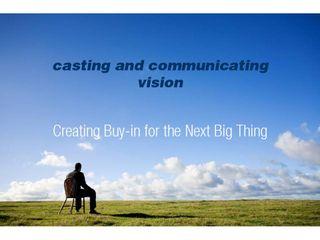 Evan McBroom Church Vision Presentation