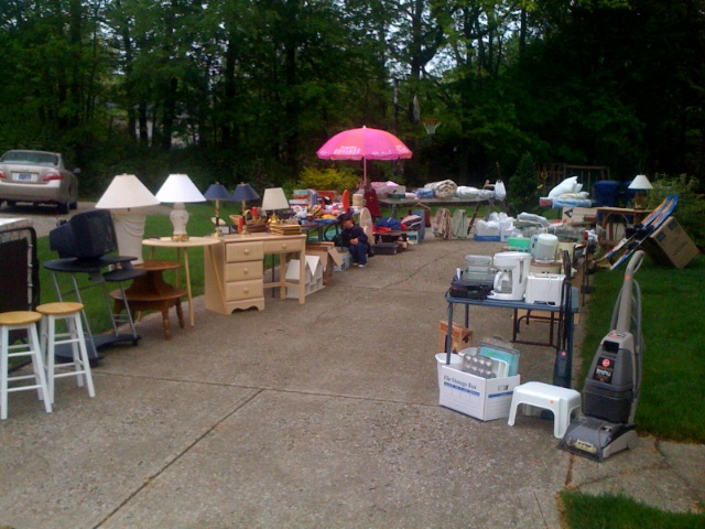 Garage Sale-where's waldo?